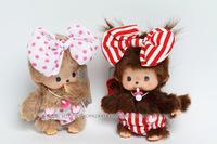 WJ101 Fashion Lovely Plush Stuffed Monster Doll Monkey Toy Monchhichi Multiple Style 15 CM Supernova Sale Baby Christmas Gift