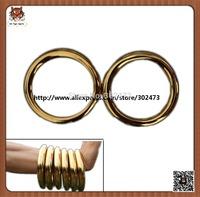 Wushu weapon-Iron ring with titanium plating