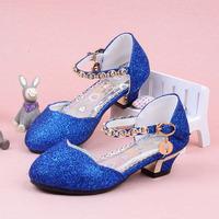 2013 child sandals for girls ,child half  high-heeled sandals single princess shoes child fashion princess  dance shoes