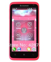 Original lenovo S720i Android 4.1 MTK6577 Dual core 1GB RAM 4GB ROM 4.5'' screen 8MP camera 3G Dual SIM card with gift