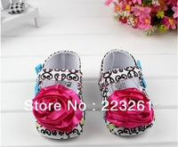 Free shipping new arrival first walker for girl infant shoes flower soft sole baby toddler shoes spring autumn