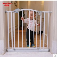 Hole-digging child baby simple sniffle door fence pet stair gate