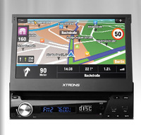 """7"""" Digital Touch Screen One Din Car DVD Player Single Din Car Radio with Fashion Windows 8 Metro-style Interface"""