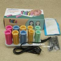 Jf888-10 ceramic electronic hair tube electric heating hair roller hair sticks