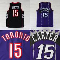 Vince Carter Jersey Toronto #15 Purple Stitched Basketball Jersey Free Shipping