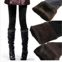 Free shipping  Hot sales Warm Winter Skinny thicken plush velvet  Leggings Stretch Pants Thick Footl   pant clothing