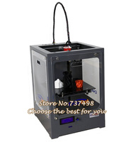 best profession big size heated bed/platform 3D printer single extruder with metal frame/ LCD panel/  3D printing machine kit