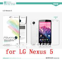 NILLKIN screen protector Lot! Matte OR Super clear HD anti-fingerprint protective film for LG Nexus 5 (Google Nexus 5)
