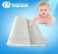 Free Shipping ! Qingyouyalan 0.6m x 1.2m x 5cm Baby and Child Mattress Authentic Imports Natural Latex Mattress 304-0002