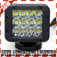 Free DHL Ship 2PCS 5inch 36W CREE LED Driving Light 3000lum 12V LED Working Headlight Offroad Truck SUV 4X4 Fog Light