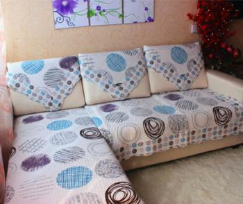 Wholesale russia blue sofa cushion90*210 cm back towel sofa cover three person sofa cushion/sofa towel/zara home free shipping