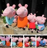 Peppa pig plush toy assuming pig pink pig dolls doll george pig pepe