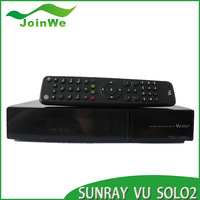 New Arrival!  VU SOLO 2 support openpli 3.0 software full hd  PVR ready digital satellite receiver vu solo2 free shipping