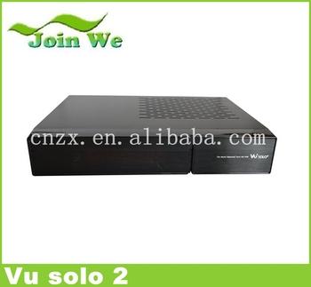 2pcs/lot vu solo2 hz 1300 mhz cpu 2 decodificador vu solo 2 sintonizador receptor linux/dvb-s2 sintonizador decodificador vu envío gratis