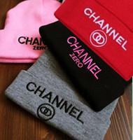 Top Quality !! Cherry KoKo Ssur channel zero Beanies knitted hat Male Women lovers Skullies