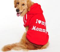 022186 LOVE MOMMY  BIG DOG CLOTHING BIG SIZE LARGE BREED COAT SPORTS OUTWEAR AUTUME samoyed labrador