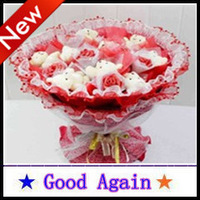 Bouquet Cubs Christmas Eve Valentine's 2013 New Day weddings Wedding 40*40 cm Environmental pe material Round Hot Birthday gift