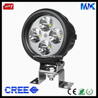 New 2014 Flood or Spot Beam CREE 40W 12V 24V DC IP67 3500LM Aluminum Alloy Shell,PC Lens Auto Led Work Lights MK-623