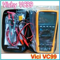 Vichy VC99 3 6/7 Auto range digital multimeter with bag better FLUKE 17B a pair crocodiles free shipping