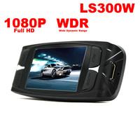Free shipping LS300W 140 degree view angle Novatek 96650 Full HD WDR night vision car dvr