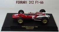 ixo 1/43 F1 RACING diecast car model F1-66 #6