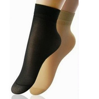 Min Order $5 (Mix Order) High Quality Core Spun Spandex Socks Ladies Velvet Silk Socks