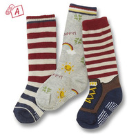 New arrivals ! Free shipping, 3 pairs 6-24 months Carter baby powder cotton socks Flanging relenting baby girl and boy socks