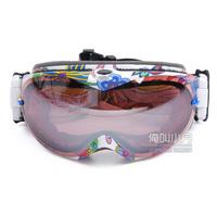 new 2013 Christmas gift outdoor ski goggle glasses men&women brand ski goggle snowboard uv-protection anti-fog snow glasses mask