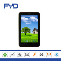 T70G 7 inch capacitive touch screen 2500 MAh mtk 8312 dual core dual sim Android 4.2 Bluetooth 3G phone call tablet pc