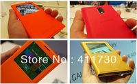 PU Leather Full Body Case FLIP CASE Colorful COVER FOR N9000 (Assorted Colors) Freeshipping Christmas Gifts