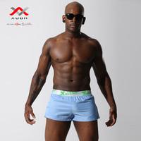 Free shipping Men's cotton casual shorts Loose comfortable boxer shorts Pajama bottoms 5 Colors