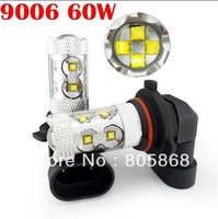 Free Shipping CREE 60W SMD LED Car Fog light H4 H7 1156 1157 9005 9006 H11 Car Turn Signal Reverse Tail Light Bullb