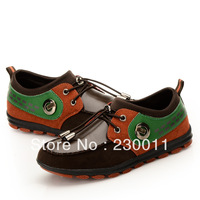 Free Shipping!!!Wear-resisting Genuine Leather Front Lace-up Boy's Sports Shoes