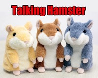 SuperLikable Original Russian Talking Hamster Copy Voice Pet Recorder Plush Toy Animal Repeat Language Christmas X'mas kid gift