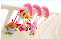 20% off Promotional ! Brand Baby Beetle Rattle Toys Infant Soft Plush Animal Bed Hanging Bell Music Moblies Newbron 0-12 Retail