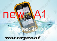 New Luxury unique Cheap Original Phone  A1  SC6820 dual sim 3MP Android 3.5 TFT outdoor waterproof rugged smart Mobile phone