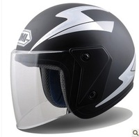 !Transparent lens! Safety Cap Motorcycle Helmet For Male And Female.Also Suitable For Electric  Bicycle.Free Shipping
