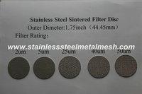 Standard Five Sintered Disc Mesh