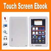 New arrival 7 Inch Touch Screen Ebook Reader 4GB Memory Multi-language 86050400040
