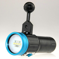 ARCHON W40VR (D34VR) Diving Photo light Max 2600 Lumens U2  underwater video light  LED Flashlight