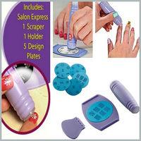 1 X Nail Art Stamp Tool Stamping Polish Nail  Design Kit Set Decoration Plate Pro High Quality  Free shipping