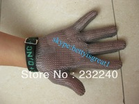 whiting + davis metal mesh glove