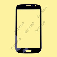 Free shipping Factory price Black Front screen glass lens for Samsung Galaxy Grand i9080 Duos i9082 with tracking number