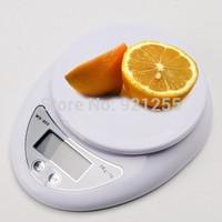1Pcs 5kg 5000g 1g Digital Kitchen Food Diet Postal Scale Precision Weight Balance Promotion