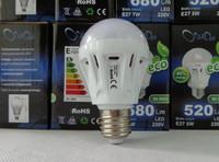 E27 5W 18x5730SMD 360-400LM 3000K Warm White Light LED Ball Bulb (220-240V)