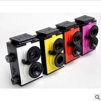 DIY Science Toy Retro Recesky Twin Dual-lens Reflex TLR Camera Set Film 35mm / Vo.1.25 LOMO Camera