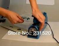 Hand Sealing Machine Impulse Heat Manual Seal Machine Plastic Poly Bag Sealer Sealing Length 20cm 8''