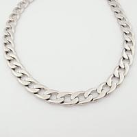 Heavy Silver Cuban link chain Stainless steel Long 60.5cm Wide 1.5cm Necklace Metal Men  CC Jewellery,Retail+Wholesale,VN160