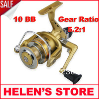 FREE SHIPPING SUPERIOR  SPINNING FISHING REEL 9+1BB