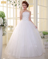 bandage lacing slim vintage wedding dress 2014 vestido de noiva winter dress wedding dresses vestido de noiva